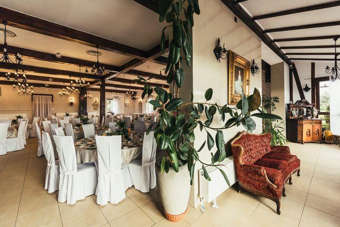 Sala przygotowana dla gości